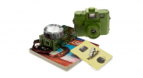 LOMOGRAPHY Holga 120 starter Kit - green