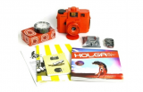 LOMOGRAPHY Holga 120 starter Kit - orange