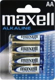 Alkalické baterie MAXELL 4x AA