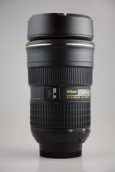 Termo hrnek objektiv Nikon AF-S 24-70mm f 2.8 verze 2 ZOOM 2a5888f11bd