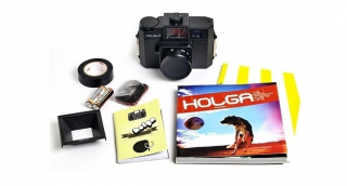 LOMOGRAPHY Holga 120 starter Kit - black