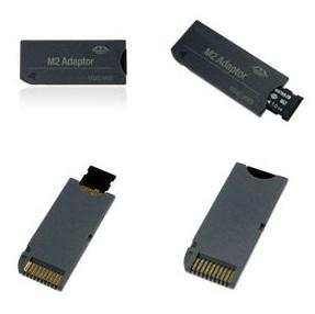 M2 TransFlash na Memory stick Duo Adapter