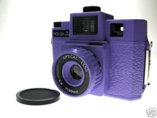 HOLGA 120 GCFN Purple
